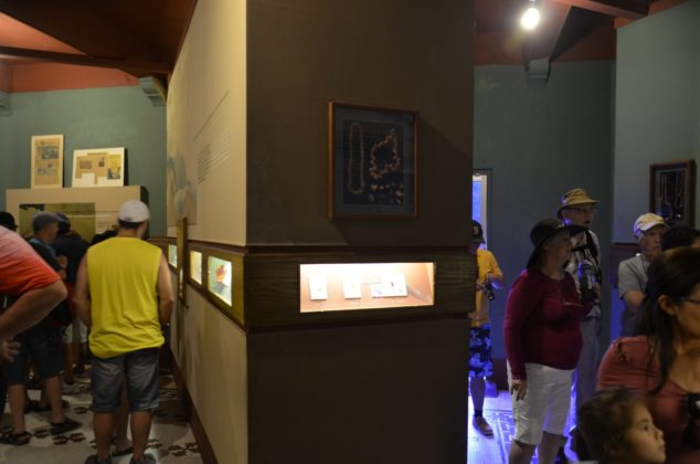 Inside the amber museum in Puerto Plata