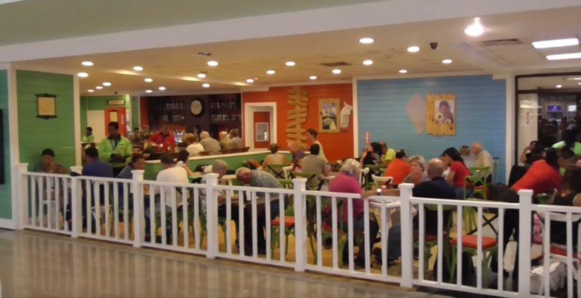 restaurant inside POP airport