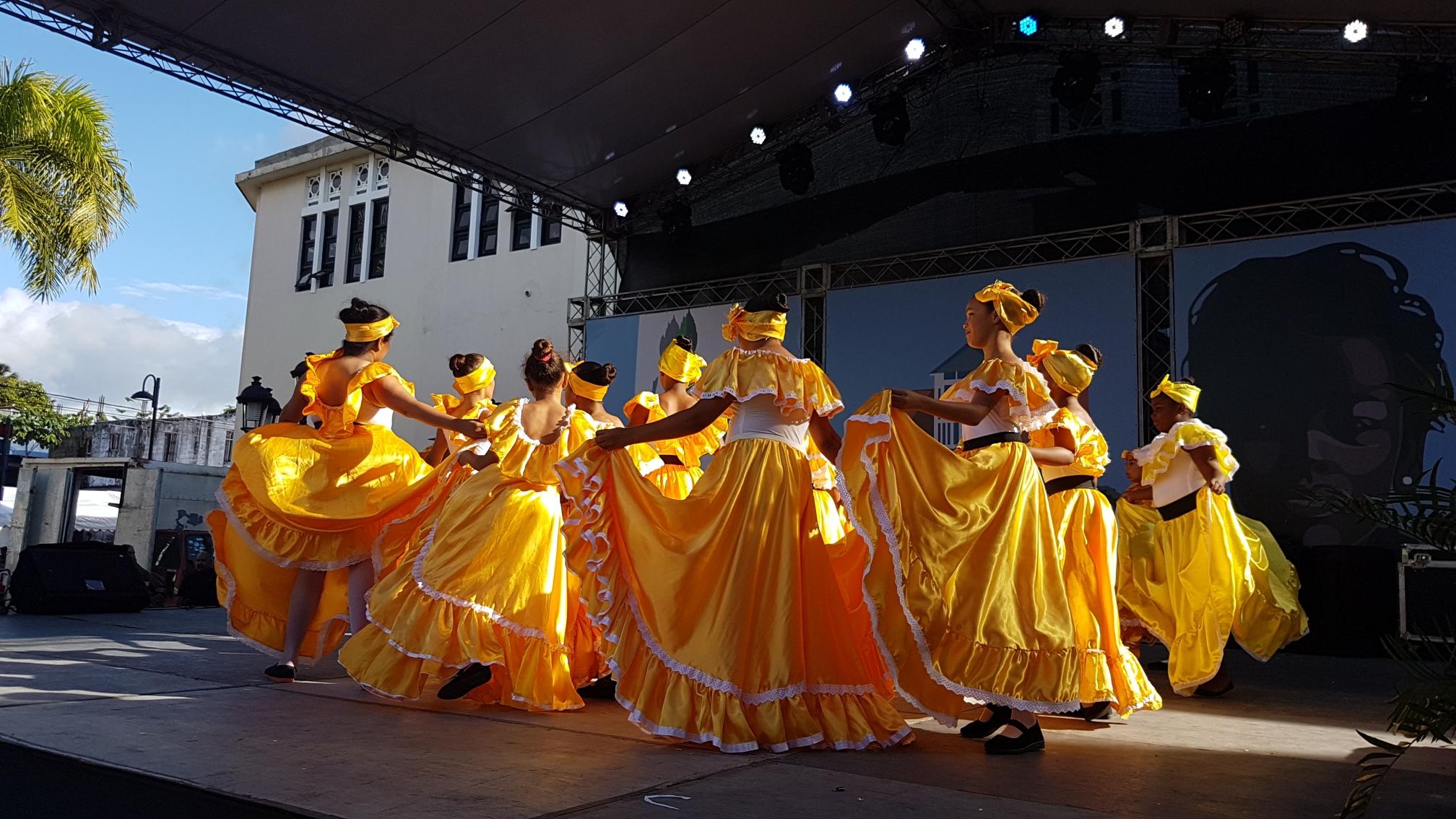 local festivities in Puerto Plata