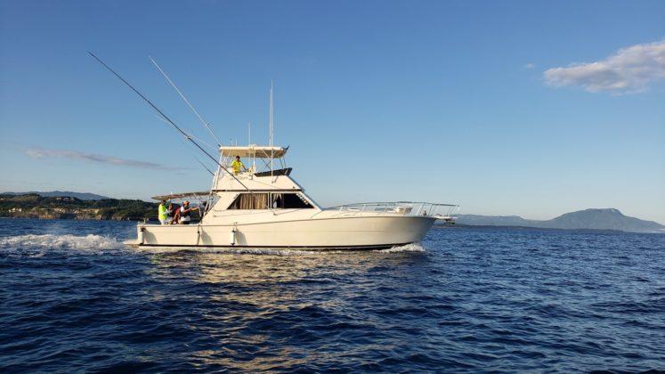 fishing yacht in Puerto Plata