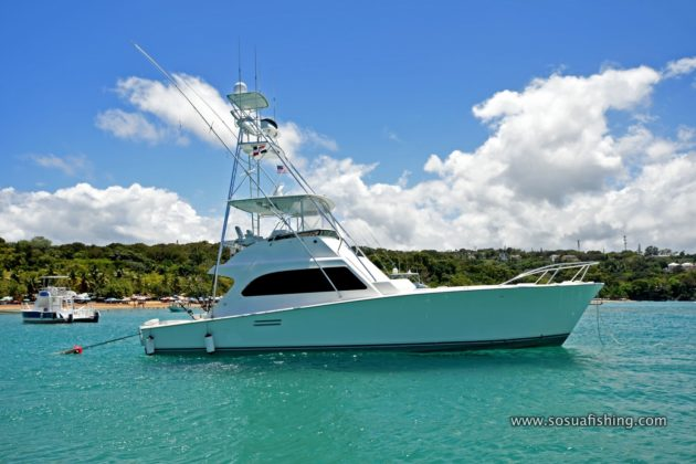 Post fishing yacht in Sosua, Puerto Plata
