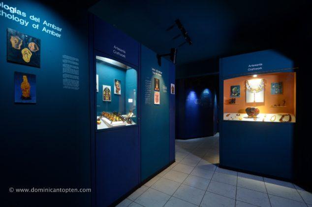 Amber exhibit room