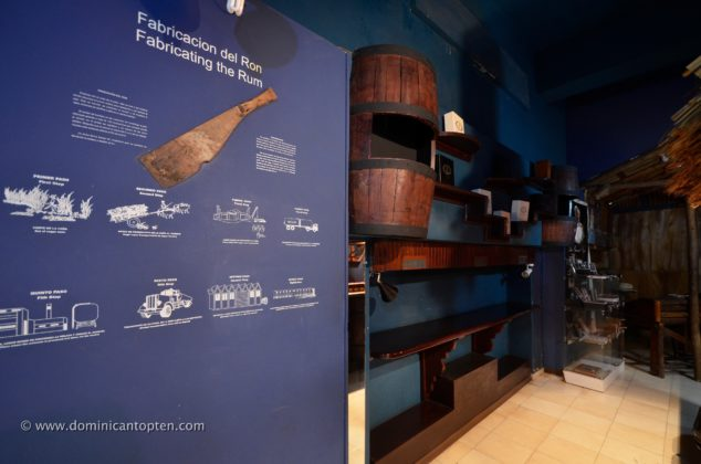 Rum production cycle display