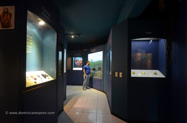 Inside the Amber Gallery in Puerto Plata
