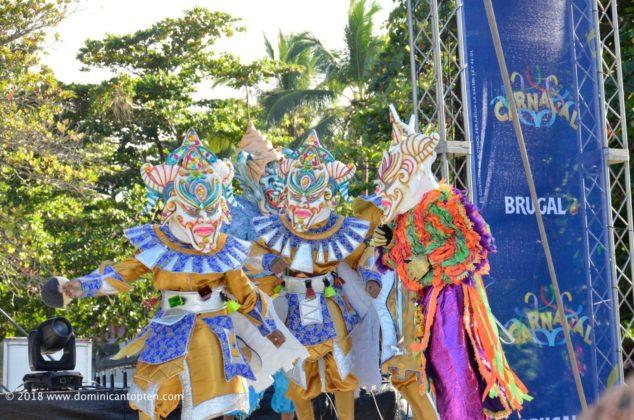 Cojuelo dancers in the carnival