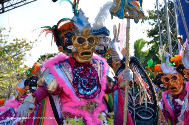 taimascaro in the Puerto Plata Carnival