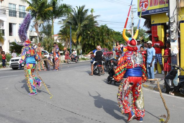 The cabarete carnival parade