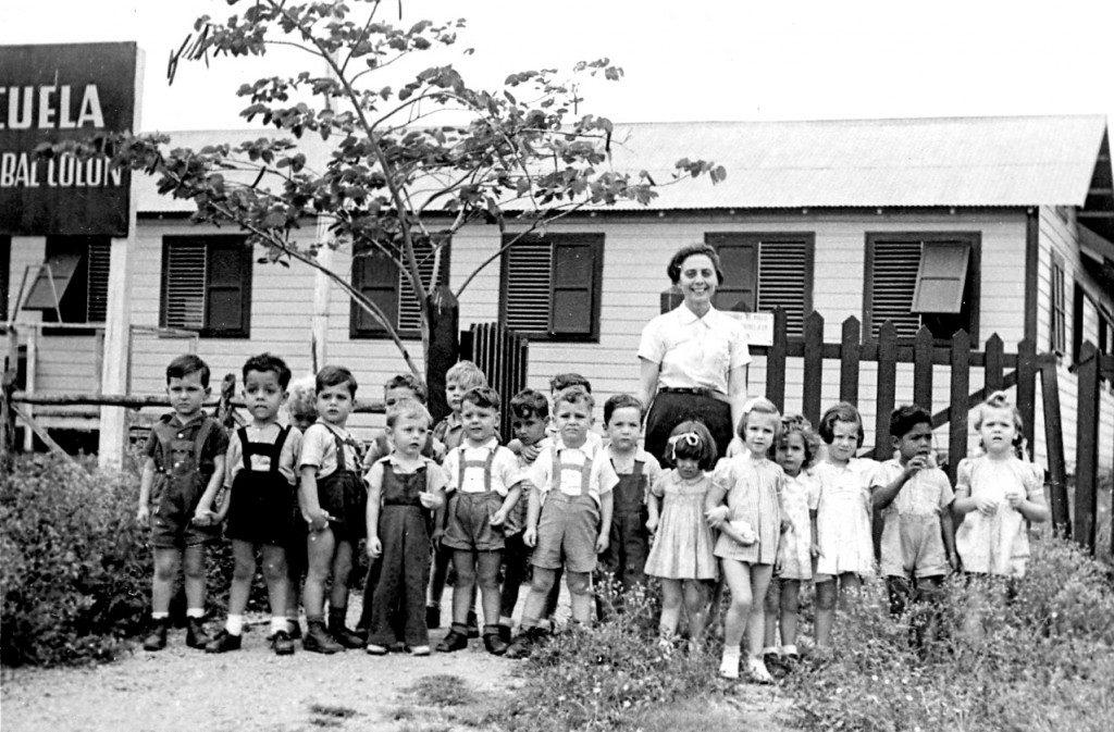 The first school of Sosua