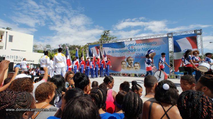 Sosua students parade