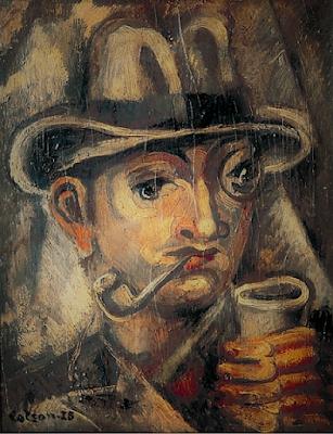 hombre con pipa
