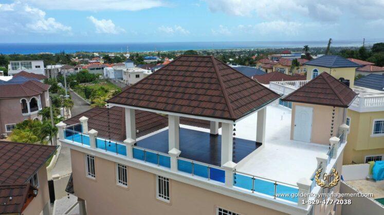 roof top gazebo