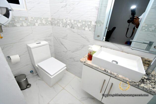 service room bathroom