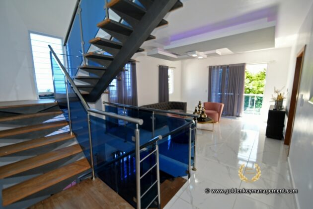 stairs in second floor