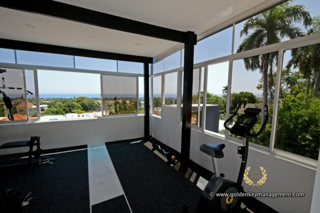 gym room terrace