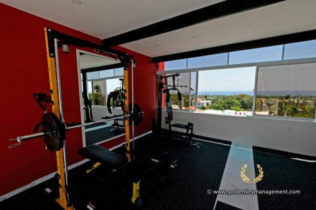 roof top gym room