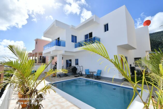 The Ocean view house in Puerto Plata