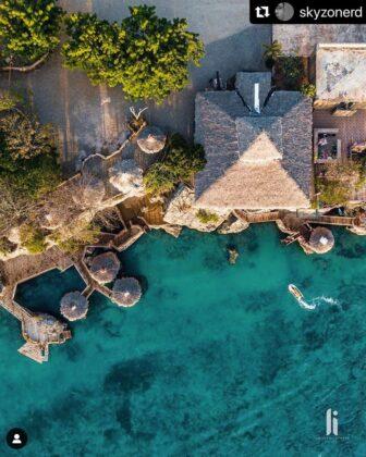 Aerial view of Fricolandia