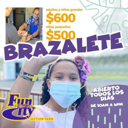 Fun city wristband promo