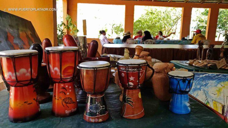 Handcrafts on display