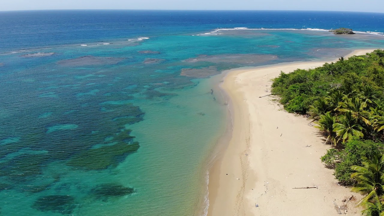 aerial view of the beach land for sale