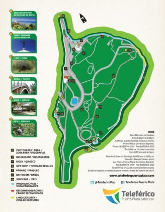 Cablecar park map